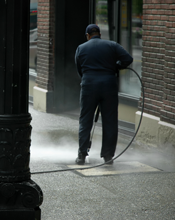 Service Commercial Pressure Washing: